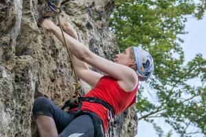 Kletterpartner/in gesucht - Bild